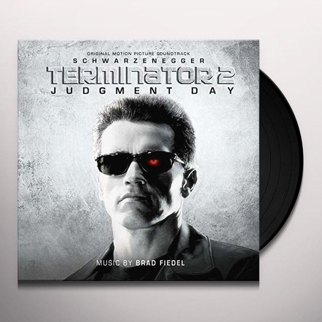 Brad Fiedel TERMINATOR 2: JUDGMENT DAY / O.S.T. Limited Edition Double Vinyl Record
