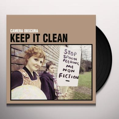 Camera Obscura KEEP IT CLEAN (25TH ELEFANT ANNIVERSARY REISSUE) Vinyl Record