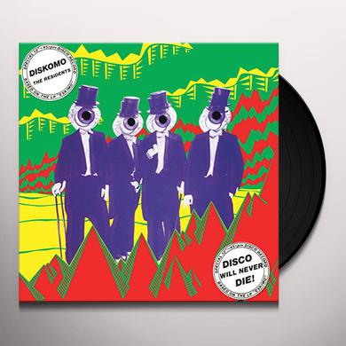Residents DISKOMO / GOOSEBUMPS Vinyl Record