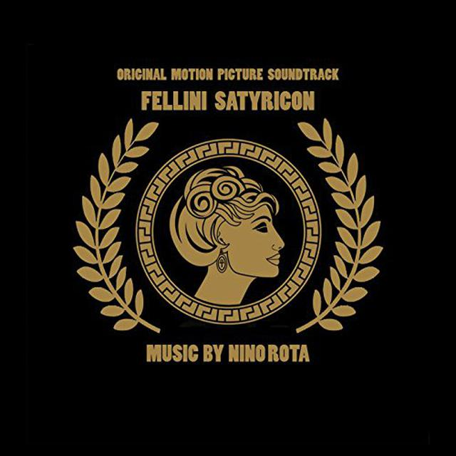 Nino Rota FELLINI SATYRICON - O.S.T. Vinyl Record