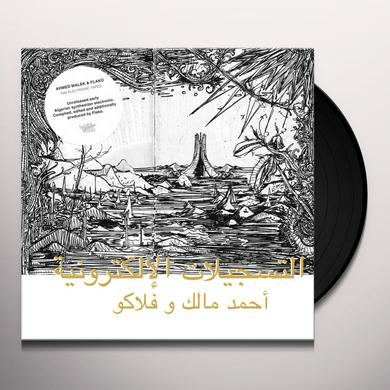 Ahmed Malek & Flako ELECTRONIC TAPES Vinyl Record