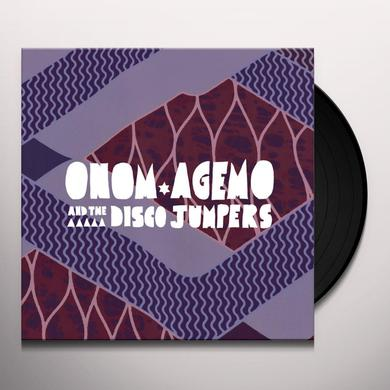 Onom Agemo & The Disco Jumpers LIQUID LOVE Vinyl Record