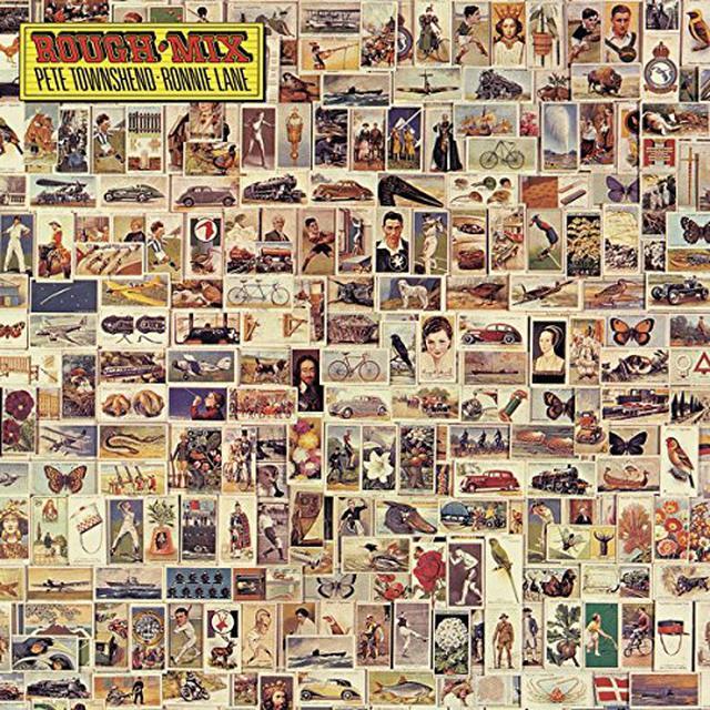 Pete Townshend / Ronnie Lane ROUGH MIX Vinyl Record