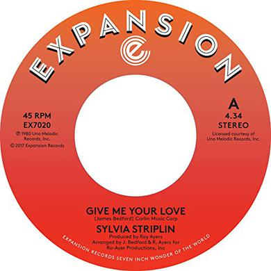 Sylvia Striplin GIVE ME YOUR LOVE / YOU CAN'T TURN ME AWAY Vinyl Record
