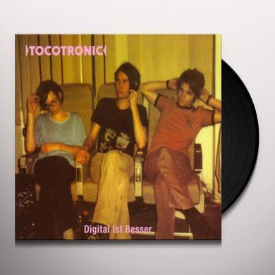 Tocotronic DIGITAL IST BESSER Vinyl Record