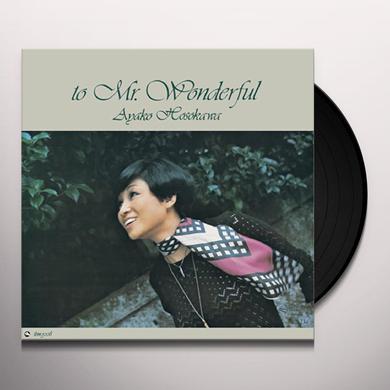 Ayako Hosokawa MR WONDERFUL Vinyl Record