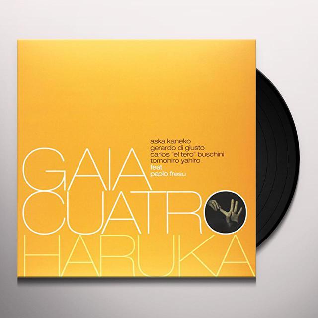 Gaia Quatro / Paolo Fresu HARUKA Vinyl Record