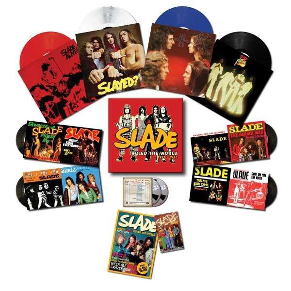 When Slade Rocked the World - Deluxe Edition Box Set (Vinyl)