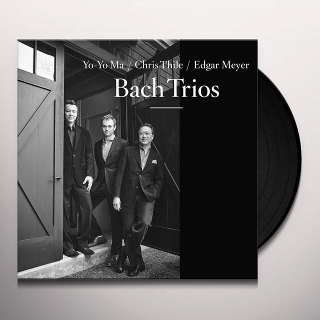 Yo-Yo Ma / Chris Thile / Edgar Meyer BACH TRIOS Vinyl Record