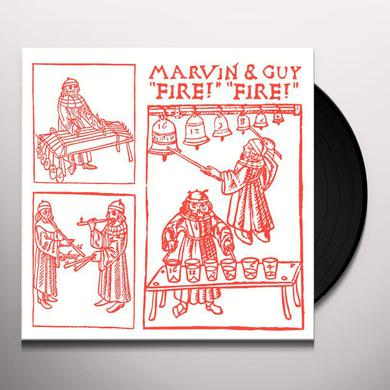 Marvin & Guy FIRE FIRE Vinyl Record