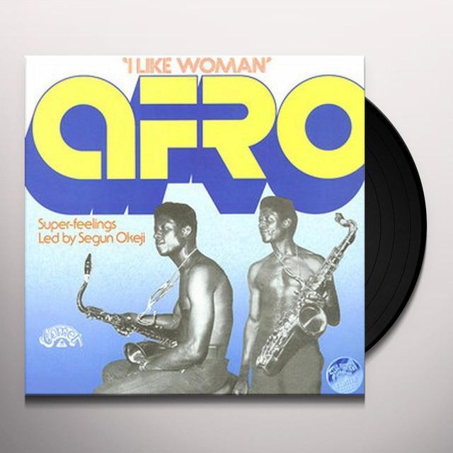 Afro Super-Feelings Led By Segun Okeji I LIKE WOMAN Vinyl Record