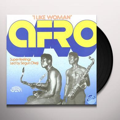Afro Super-Feelings Led By Segun Okeji I LIKE WOMAN Vinyl Record