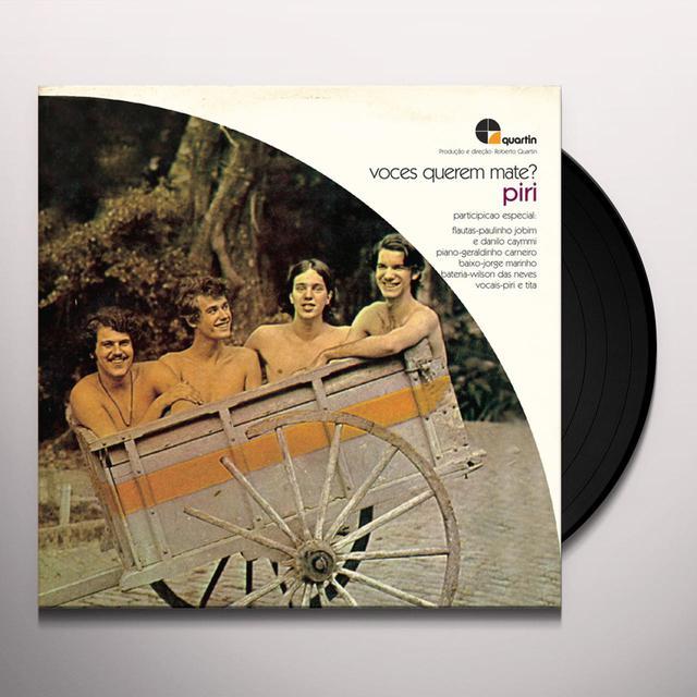 Piri VOCES QUEREM MATE Vinyl Record