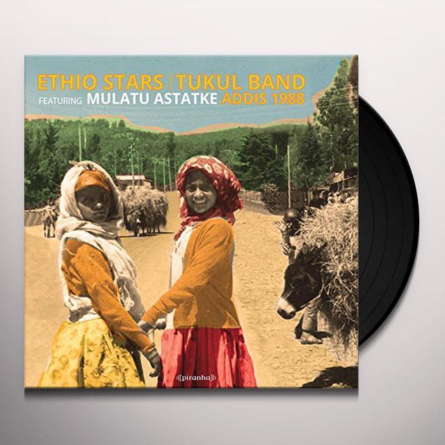 Ethio Stars / Turkal Band ADDIS 1988 Vinyl Record