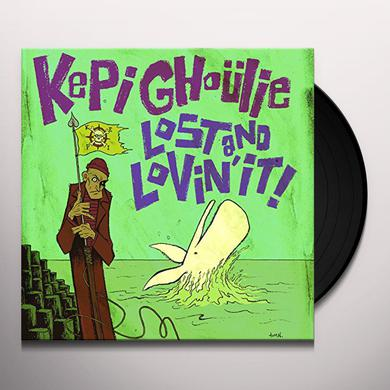 Kepi Ghoulie LOST & LOVIN' IT Vinyl Record