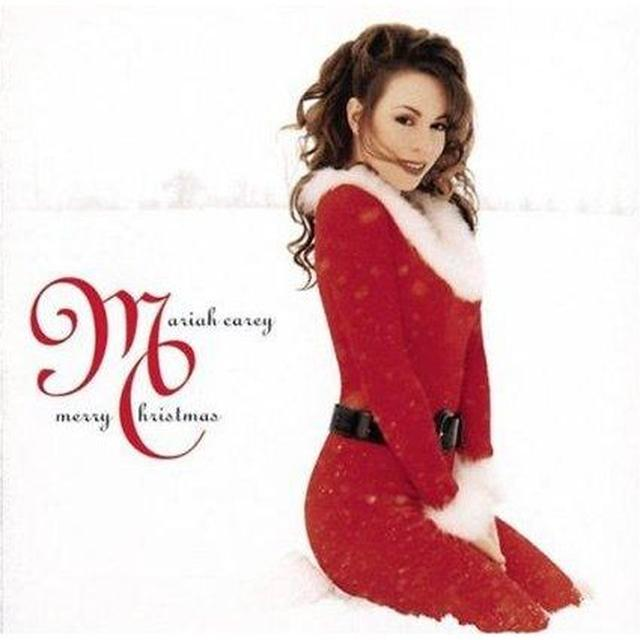 Mariah Carey MERRY CHRISTMAS Vinyl Record - Colored Vinyl, Gatefold Sleeve, Red Vinyl, Anniversary Edition, Deluxe Edition