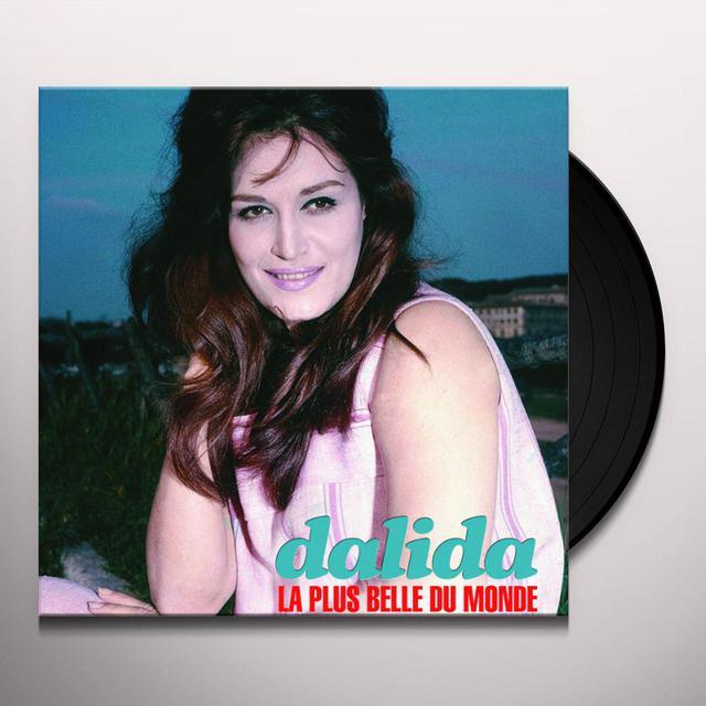 Dalida LA PLUS BELLE DU MONDE Vinyl Record