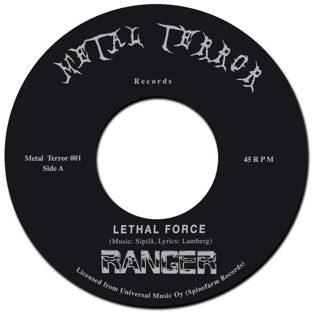 Ranger LETHAL FORCE / NIGHT SLASHER Vinyl Record