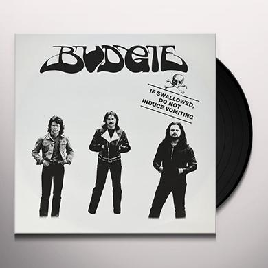 Budgie IF SWALLOWED DO NOT INDUCE VOMITING Vinyl Record