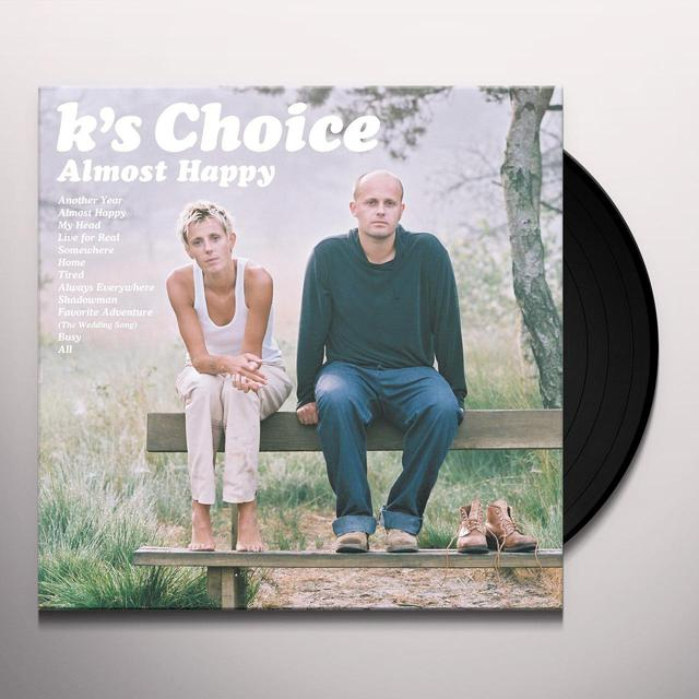 K's Choice ALMOST HAPPY Vinyl Record