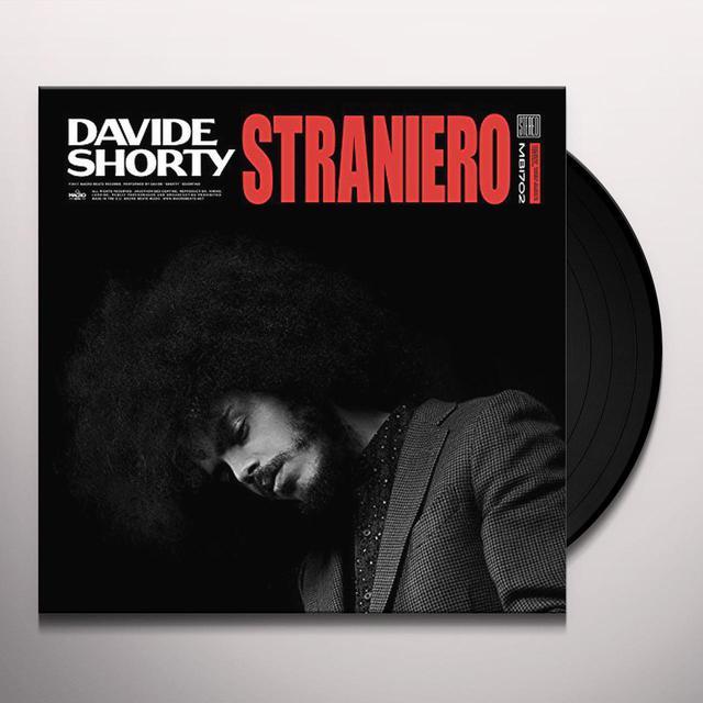 Davide Shorty STRANIERO Vinyl Record