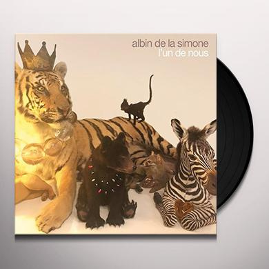 Albin de la Simone L'UN DE NOUS Vinyl Record