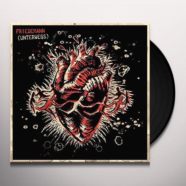 Friedemann UNTERWEGS Vinyl Record