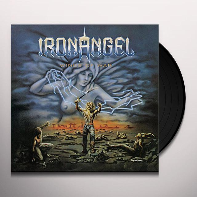 Iron Angel WINDS OF WAR (SEA BLUE VINYL) Vinyl Record