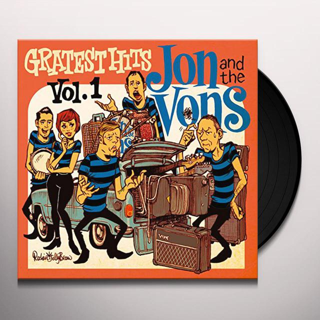 Jon & The Vons GREATEST HITS VOL 1 Vinyl Record