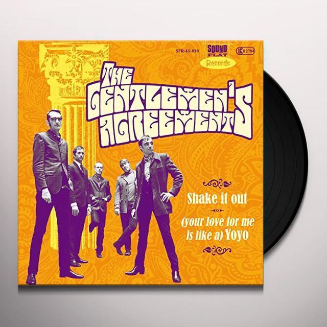 Gentlemens Agreements SHAKE IT OUT Vinyl Record