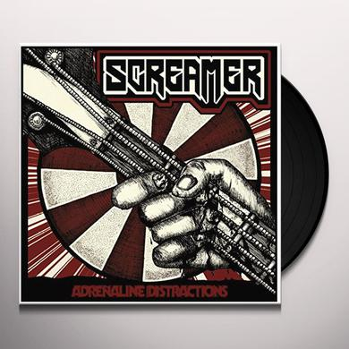 Screamer ADRENALINE DISTRACTIONS Vinyl Record