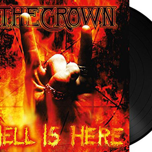 Crown HELL IS HERE Vinyl Record