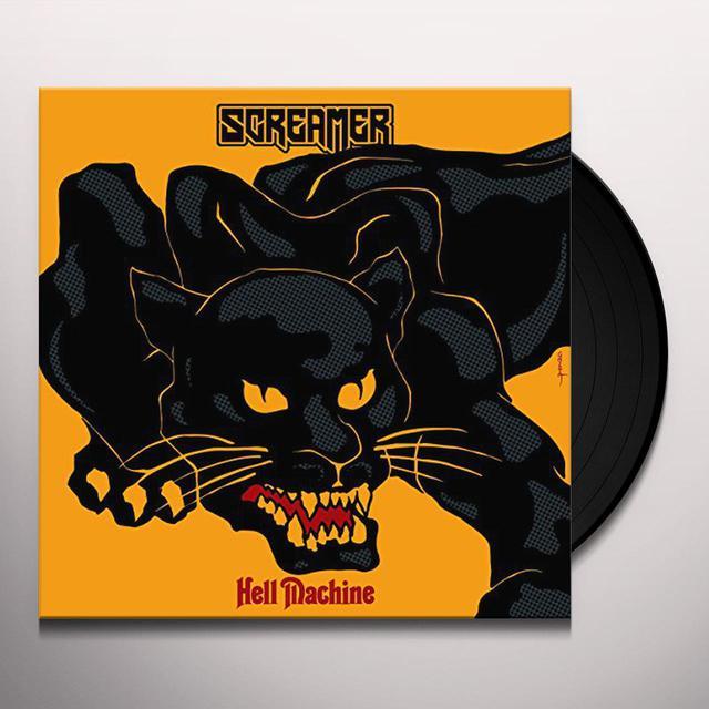 Screamer HELL MACHINE Vinyl Record