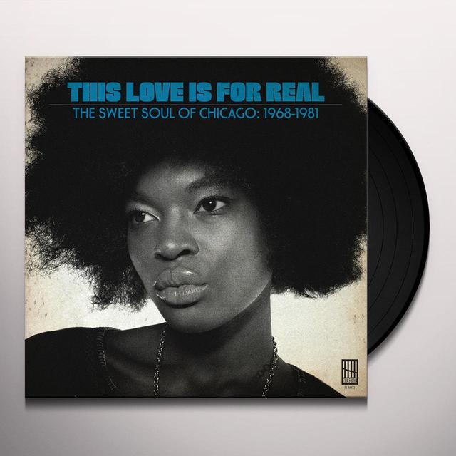 THIS LOVE IS FOR REAL - SWEET SOUL OF / VARIOUS Vinyl Record