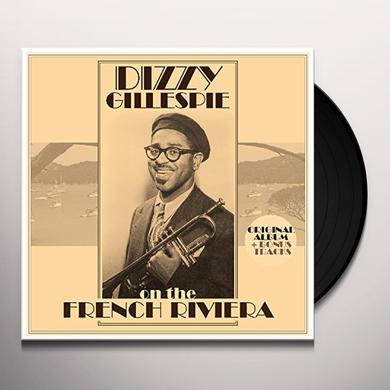 Dizzy Gillespie ON THE FRENCH RIVIERA + BONUS TRACKS Vinyl Record