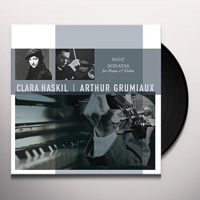 Mozart / Clara Haskil / Arthur Grumiaux MOZART: SONATAS FOR PIANO & VIOLIN Vinyl Record