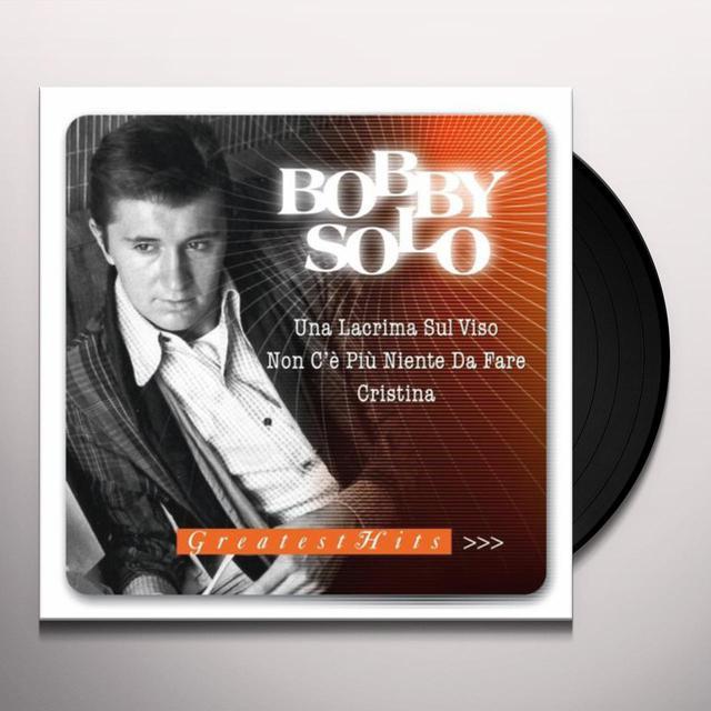 Bobby Solo GREATEST HITS Vinyl Record