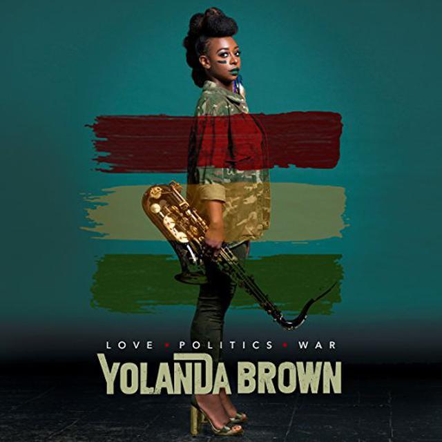Yolanda Brown LOVE POLITICS WAR Vinyl Record