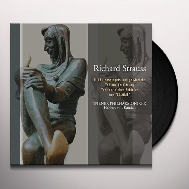 R Strauss / Herbert Von Karajan R. STRAUSS: TILL EULENSPIEGELS LUSTIGE STREICHE Vinyl Record