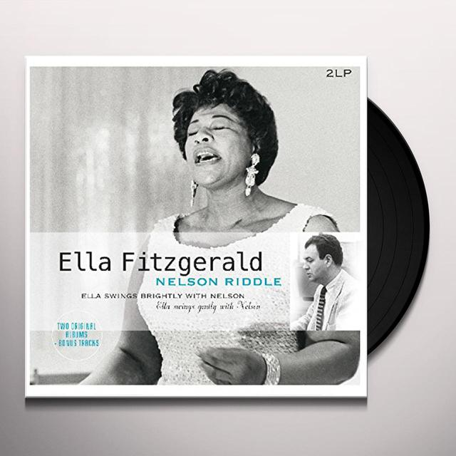 Ella Fitzgerald / Nelson Riddle ELLA SWINGS BRIGHTLY & GENTLY WITH NELSON Vinyl Record