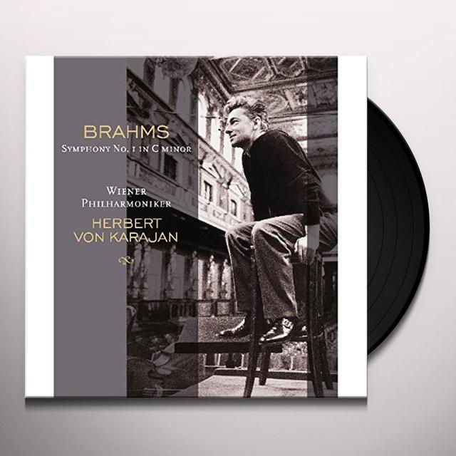 Brahms / Herbert Von Karajan BRAHMS: SYMPHONY 1 IN C MINOR Vinyl Record