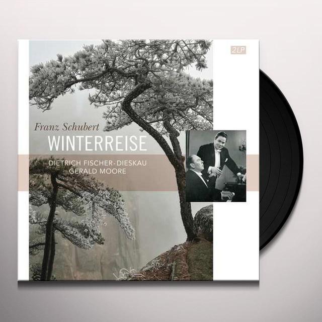 Schubert / Gerald Moore SCHUBERT: WINTERREISE / DIETRICH FISCHER DIESKAU Vinyl Record
