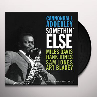 Cannonball Adderley SOMETHIN ELSE ORIGINAL ALBUM + BONUS TRACKS Vinyl Record