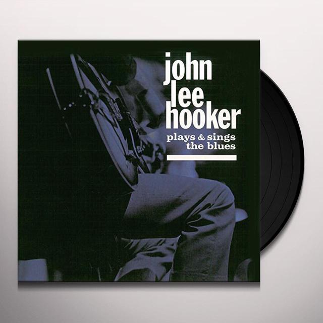 John Lee Hooker PLAYS & SINGS THE BLUES / HOUSE OF THE BLUES Vinyl Record