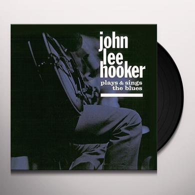 John Lee Hooker PLAYS & SINGS THE BLUES / HOUSE OF THE BLUES Vinyl Record