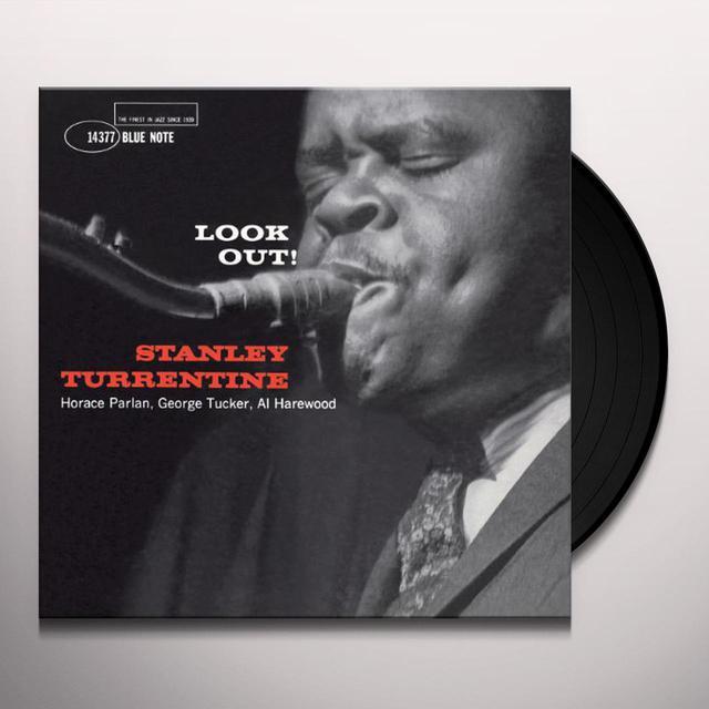 Stanley Turrentine LOOK OUT: RUDY VAN GELDER RECORDINGS Vinyl Record
