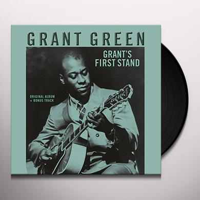 Grant Green FIRST STAND: RUDY VAN GELDER RECORDINGS Vinyl Record