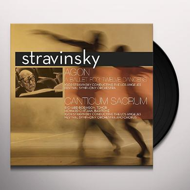 Igor Stravinsky AGON: BALLET FOR TWELVE DANCERS Vinyl Record