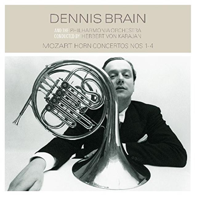 Mozart / Dennis Brain / Philharmonia Orchestra MOZART: HORN CONCERTOS 14 Vinyl Record