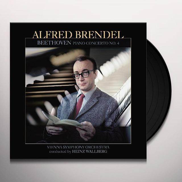 Beethoven / Alfred Brendel BEETHOVEN: PIANO CONCERTO 4 Vinyl Record